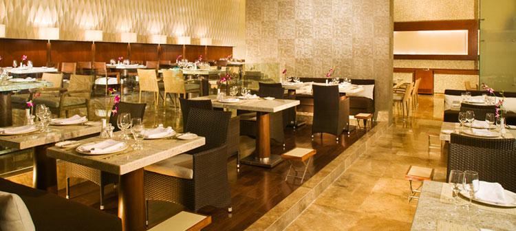 Restaurant Bistro du Grand Velas Riviera Maya au Mexique