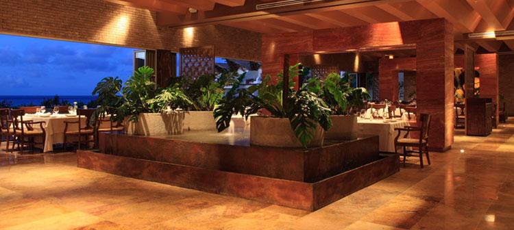 Restaurant Frida du Grand Velas Riviera Maya au Mexique