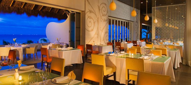 Restaurant Cocina de Autor du Grand Velas Riviera Maya au Mexique