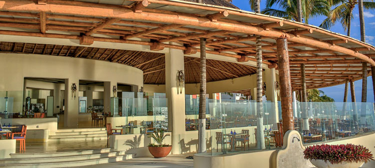Restaurant Azul du Grand Velas Riviera Nayarit au Mexique