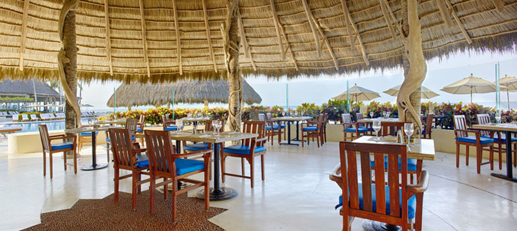 Restaurant Selva del Mar du Grand Velas Riviera Nayarit au Mexique