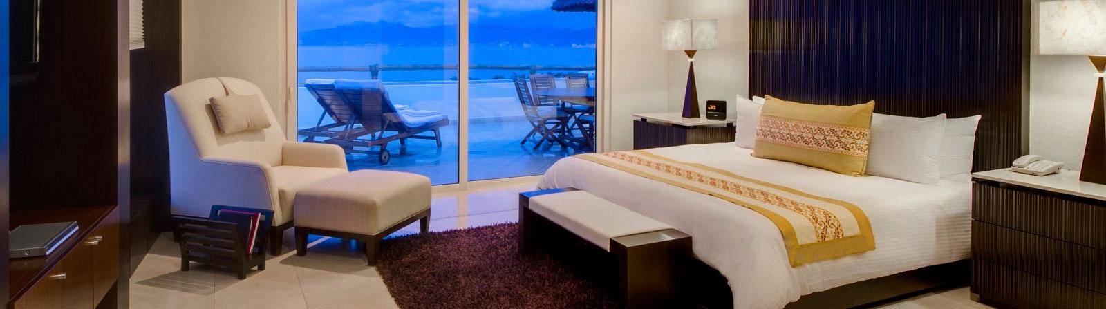 Suite présidentielle du Grand Velas Riviera Nayarit au Mexique