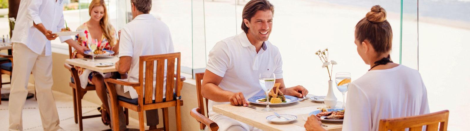 Restaurants du Grand Velas Riviera Nayarit au Mexique