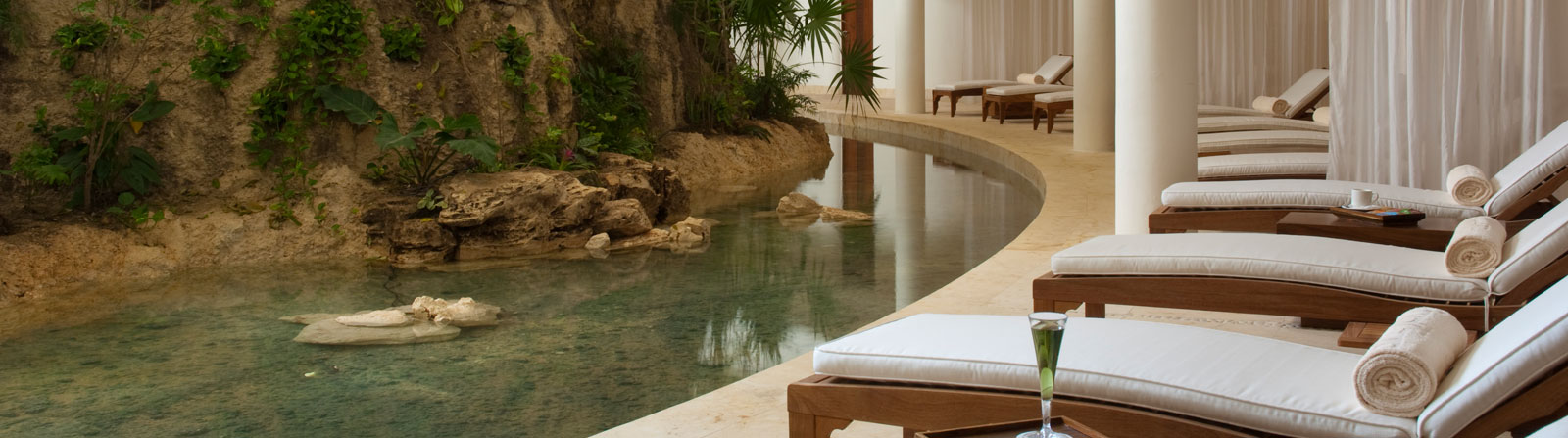 Spa du Grand Velas Riviera Maya au Mexique