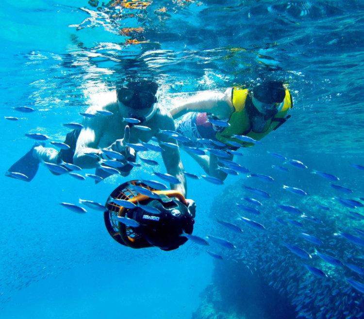 Snorkeling em Los Arcos - Grand Velas Los Cabos Mexico