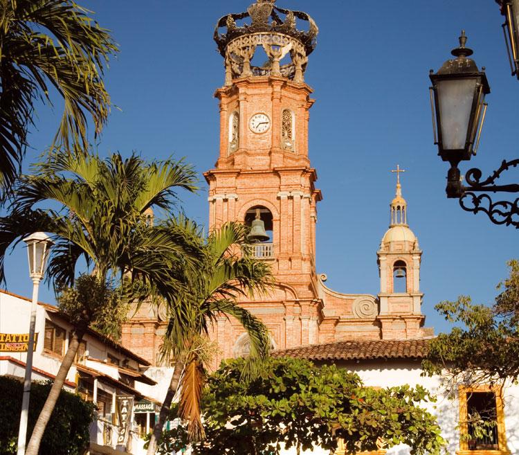 Igreja da Virgem de Guadalupe no México