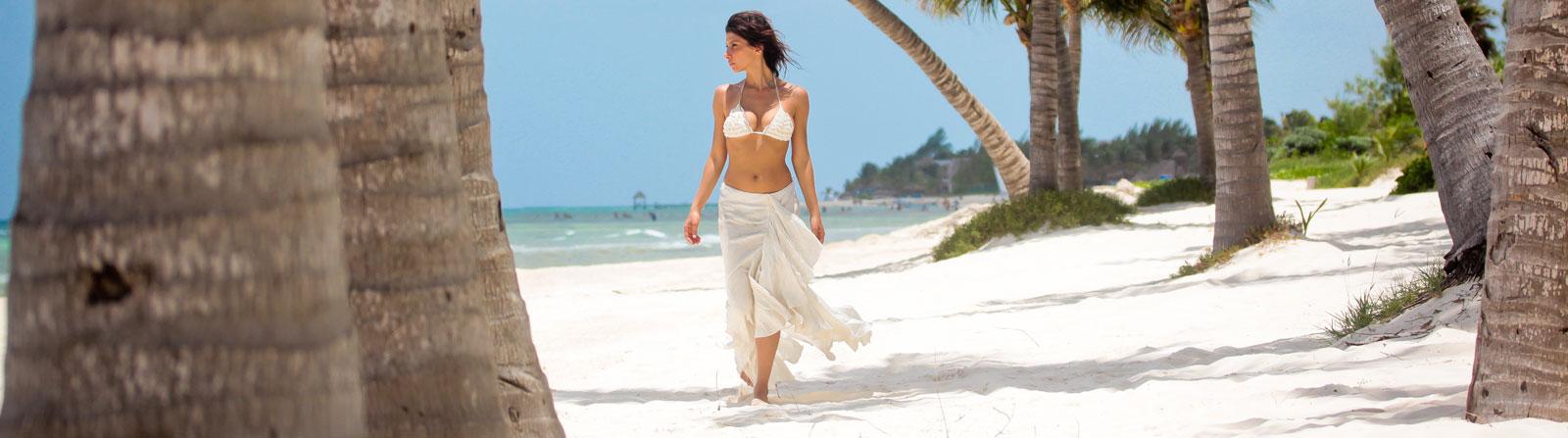 Praia próxima ao Grand Velas Riviera Maya México