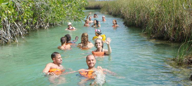 Parque ecológico de Riviera Maya México