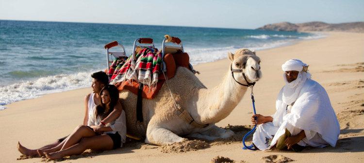 Safari sobre camelos - Cabo San Lucas, Grand Velas Mexico
