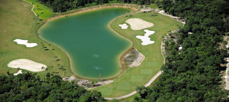 Golf at Grand Velas Riviera Maya, Mexico