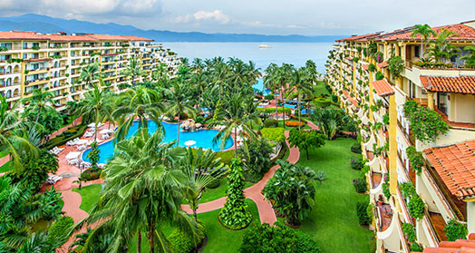 Velas Resorts History 1990 at Puerto Vallarta