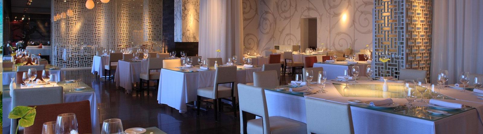 Dining at Grand Velas Riviera Maya Mexico