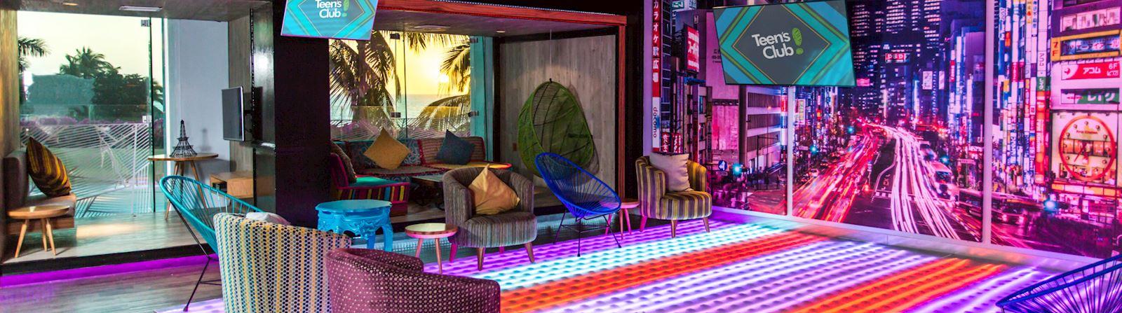Teens club at Grand Velas Riviera Nayarit Mexico