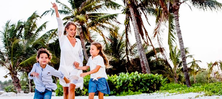 Single Parents Getaway at Grand Velas Riviera Maya, Mexico